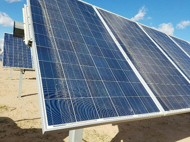 Agricultural Solar Panel Cleaning at Shine Up Solar