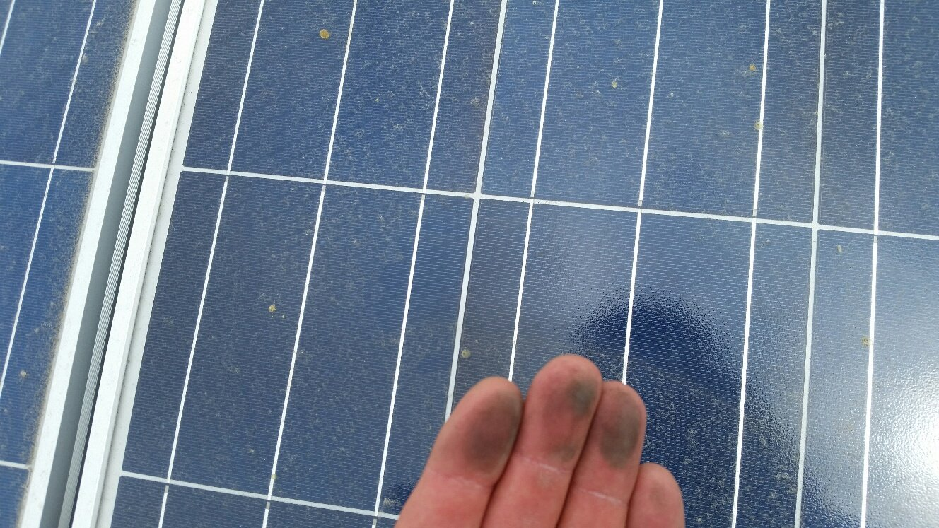 How we clean your solar panels